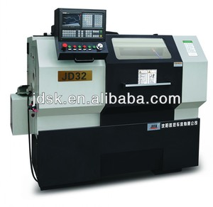 Production machine cnc lathe from China manufacturer