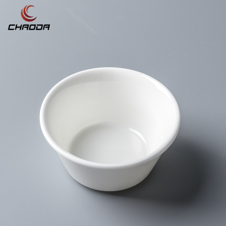 Beautiful And Good Quality Restaurant And Hotel Ceramic Porcelain Small Round Square Oval Ceramic sauce bowls
