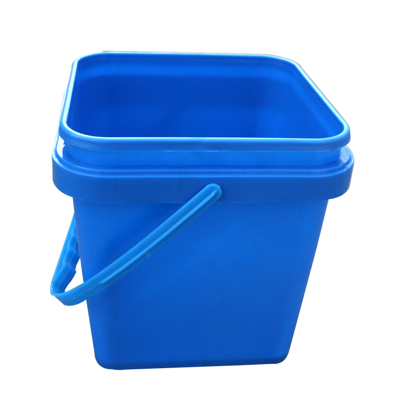 Cheap and Virgin PP material multi-purpose Plastic square packing bucket with lid and handle