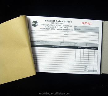 Custom Receipt Book Printing Invoice Book Taxi Receipt Print Buy - Custom invoice book printing