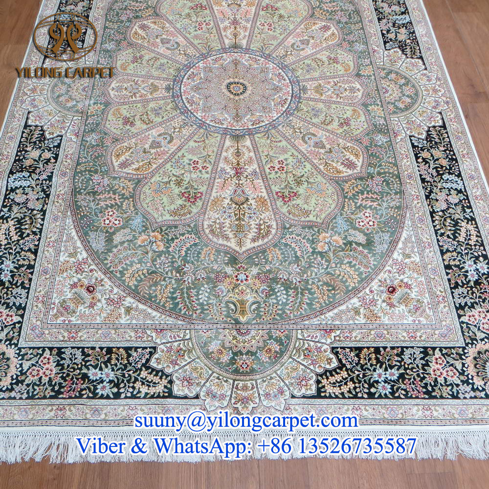Turkish Goat Hair Cotton Flatweave Kilim From Double Knot Rug