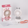 Popular products 2018 rechargeable usb mini portable fan with led light