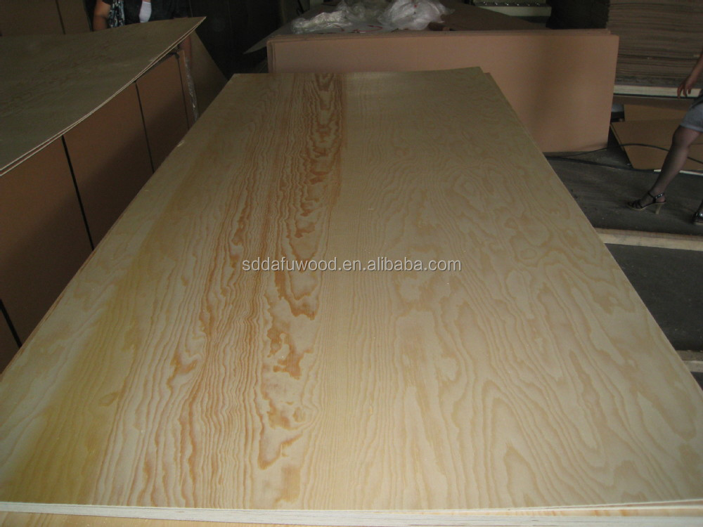 E1 POPLAR CORE CHEAP RADIATA PINE PLYWOOD  FOR  CABINET