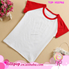 Fashion Custom Printing Infant toddler softtextile tshirt Design your own T-shirt Raglan Baby Kids T Shirts