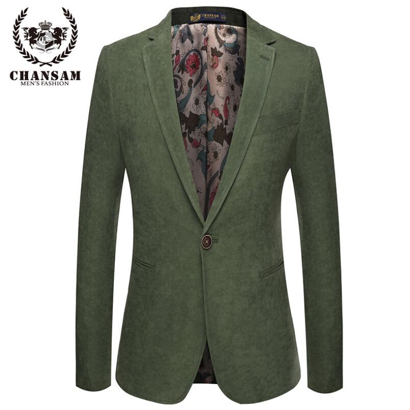 Compra verde chaqueta de los hombres online al por mayor