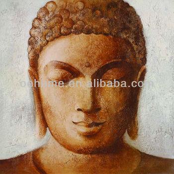 Buddha Wall Art,Buddha Face Paintings On Canvas - Buy Buddha Wall ...