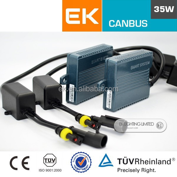 Smart system CANBUS ballast HID xenon conversion kit 35W,HID Auto kit bi-xenon,xenon lamp power supply