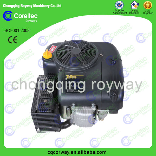 2014 Top Selling Two Cylinder recoil/electric start Air Cooled diesel engine vertical shaft