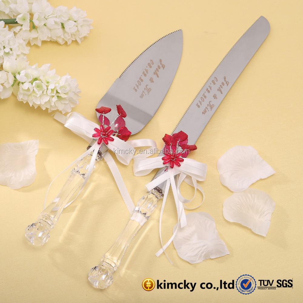 Wedding Cake Knife Server Set Supplieranufacturers At Alibaba