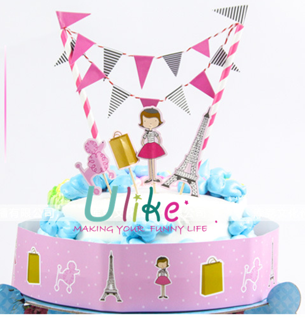kids party cake decor happy birthday cake toppers theme party cake