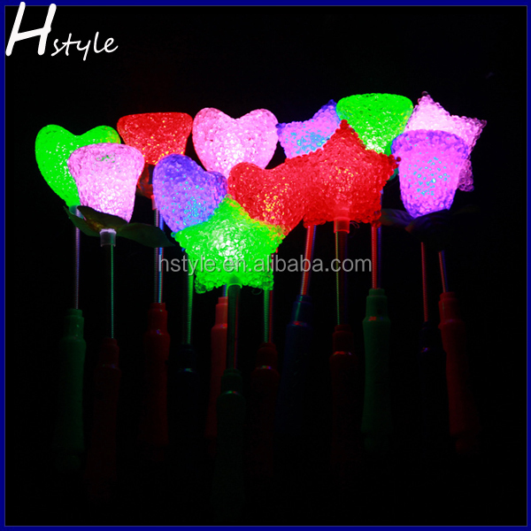 2015 Hot Selling Fashionable Cheap Plastic Concert Light Wands SL002