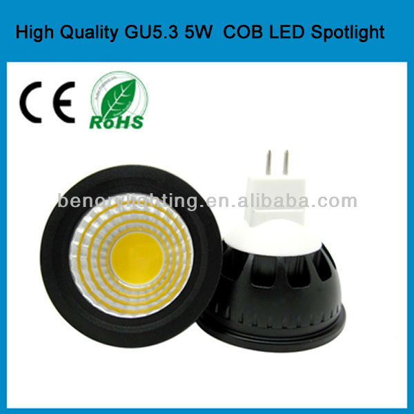 2015 projector lamp 5W cob led spotlighting kinds of energy saving lamps