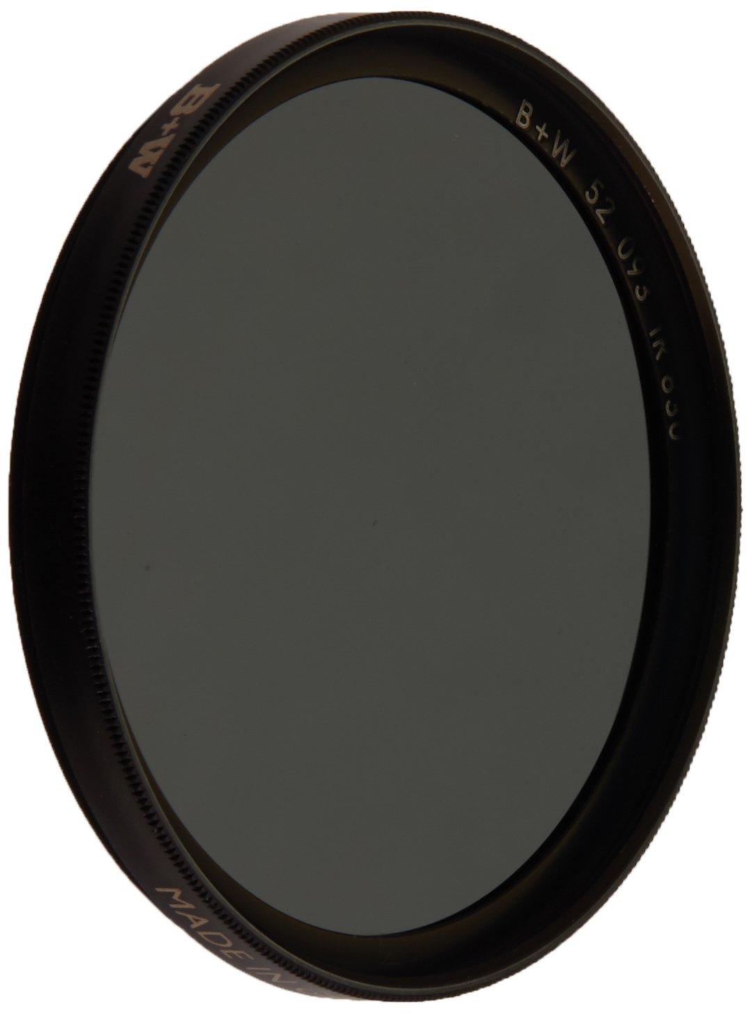 Black 093 B+W 52mm Infrared Pass Camera Lens Filter