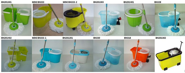 Foldable Bucket Cleaning Tool 360 Magic Mop