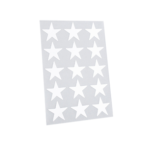 Home decoration colorful custom star wall pvc sticker for kids
