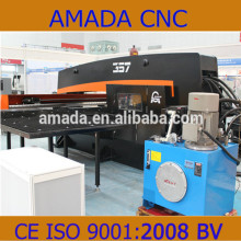 Low Price Qingdao AMADA Hydraulic CNC Punching Press Machinery