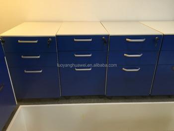 Acier mobilier de bureau en métal mobile verrouillable mobile sous