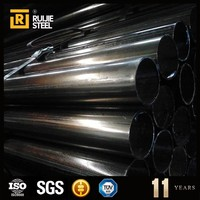 Factory produce tensile strength steel erw pipe and tube a53b steel pipe with high strength