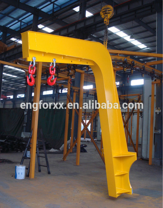 Heavy Duty Carriage Forklift Mounted Crane Jib