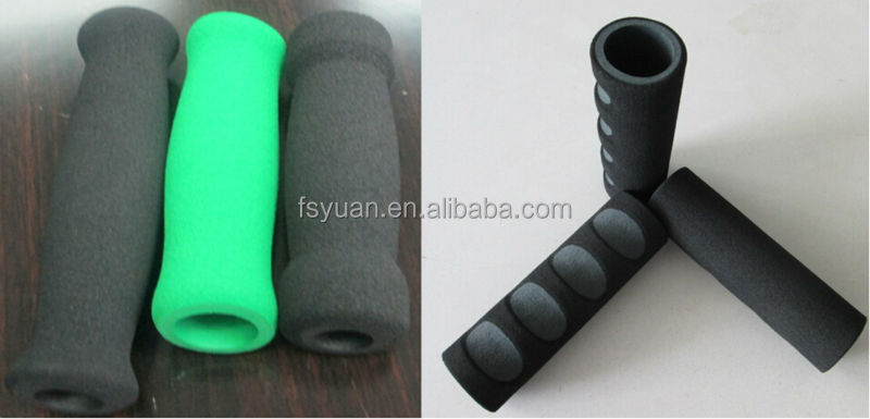 NBR Foam Motorcycle Handle Cover / Stroller Scooter Rubber Hand ...