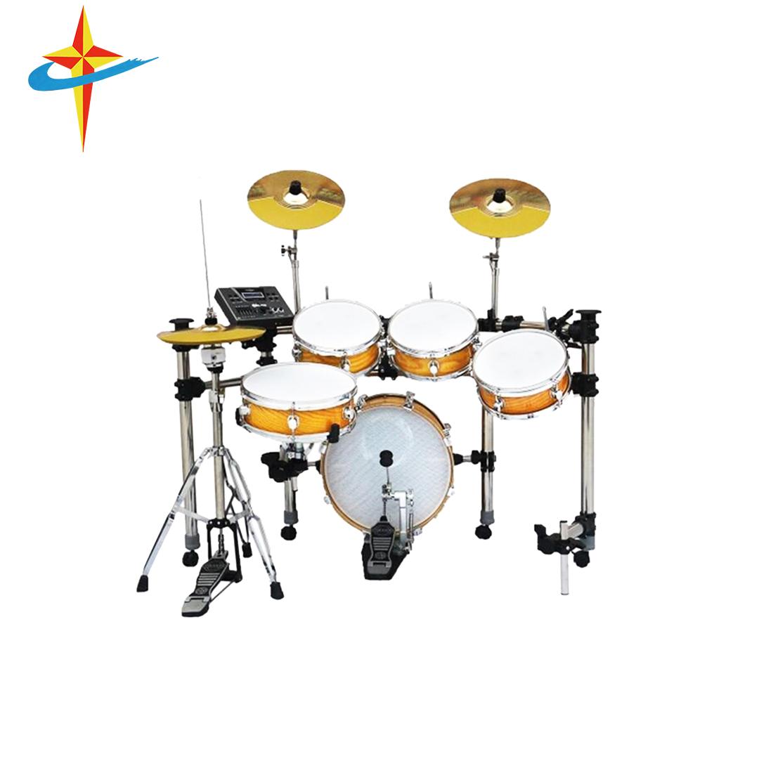 Professional Colorful Plastic Surface Electronic Drum Set