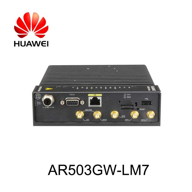 HUAWEI Router di veicoli AR503GW-LM7 4G LTE Wireless Router WiFi
