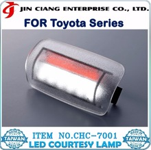 LED Car Door LOGO Laser Projector Light FOR TOYOTA LAND CRUISER VELLFIRE