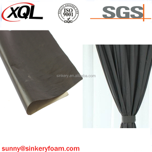 Black silver fiber rfid blocking shielding conductive fabric