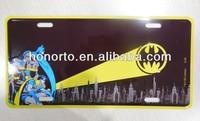 wholesale printed auto license plate