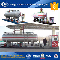factory selling customized 2 tons to 50 tons cooking gas skid station, lpg propane storage tank, lpg tank manufacturer