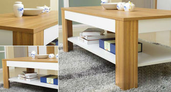 Wooden Furniture Tea Table Particle Board Pb Modern