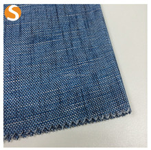 Shaoxin supplier handle Blue jean 100% cotton knit plain Fabric for garment