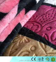 high quality 3D embossed printed flannel fabric pakistan