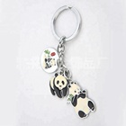 Custom Martial Art Kung Fu Panda Metal Key Chains