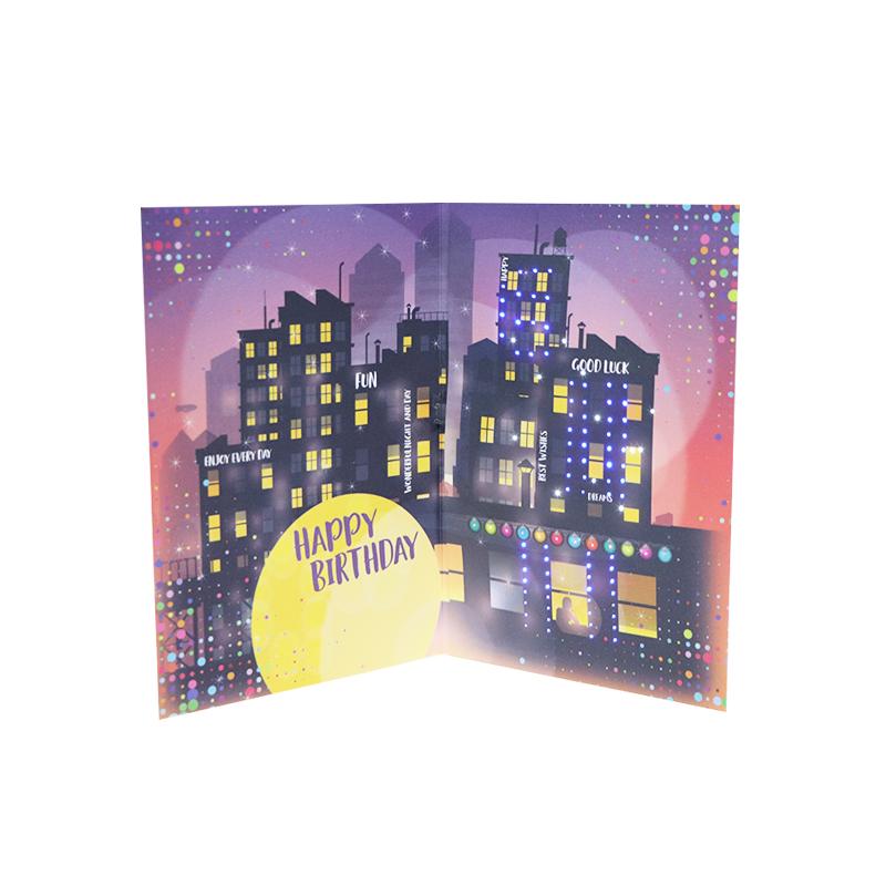 Бумажные музыкальных открыток