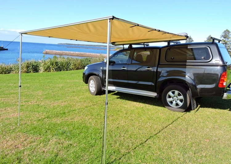 Outdoor Retractable SUV Car Side Offroad Roof Awning