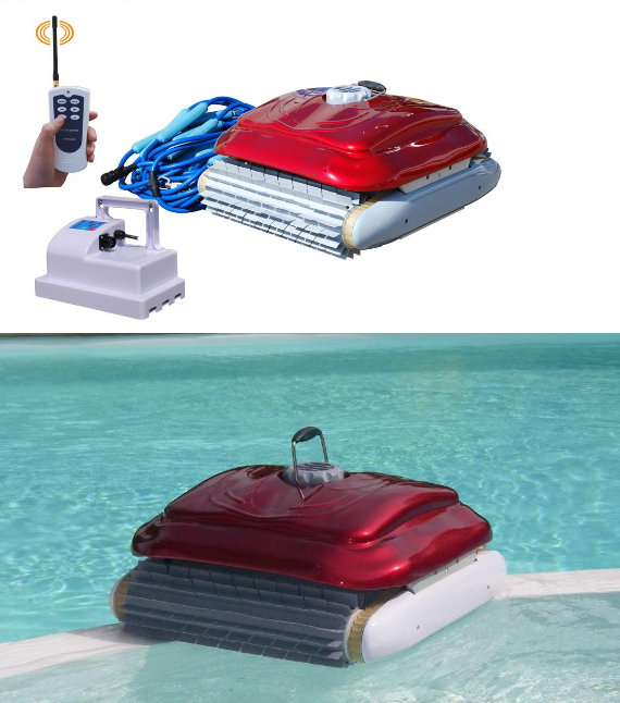 Supersonic wall climbing wet and dry swimming pool robotic - Swimming pool tile cleaning machine ...