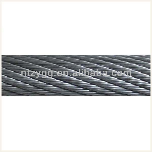 Anti Twist Wire Rope 19x7 Non-rotating Galvanized Steel Wire Rope ...