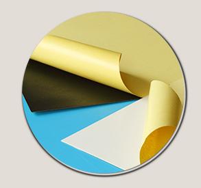 Sel-lijm Pvc Plastic Vel foam core en stijve pvc