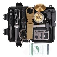 Kongbo Outdoor Survival Kit With Water Bottle Clip