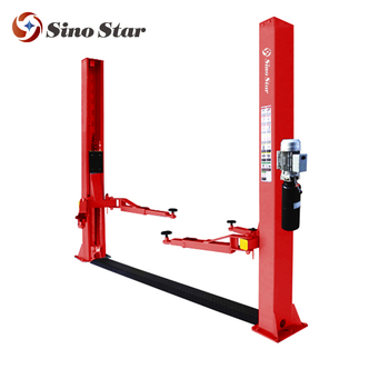 2 Post Car Lift Table Lift Mechanism Portable Hydraulic Lift Ss Cla