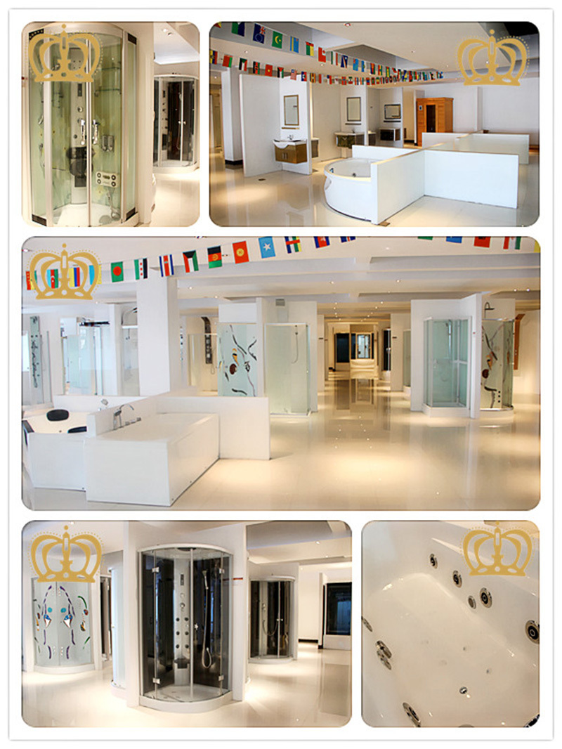 crown]luxury Indoor Rectangular Whirlpool Hot Spa Tub 1 Person Hot ...