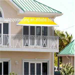 Acrylic terraces awnings folding