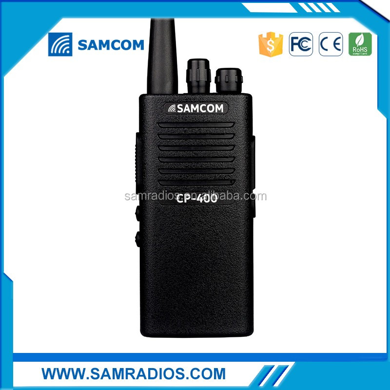 SAMCOM CP-400E 5W Pc Program Handy Talky