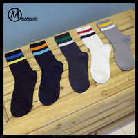 2016 Morewin promotion socks Anti-Bacterial custom logo sport socks for footwear
