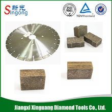 Asphalt cut diamond core bit saw blade segments