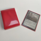 Plastic Game Card Sleeves Mtg Trading Card Game Sleeves