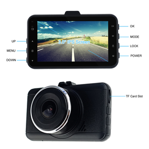 G-sensor full HD 1080P driving auto recording car camera dvr with loop recording