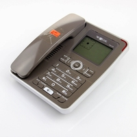 Factory direct hands free remote control 2 line caller id box