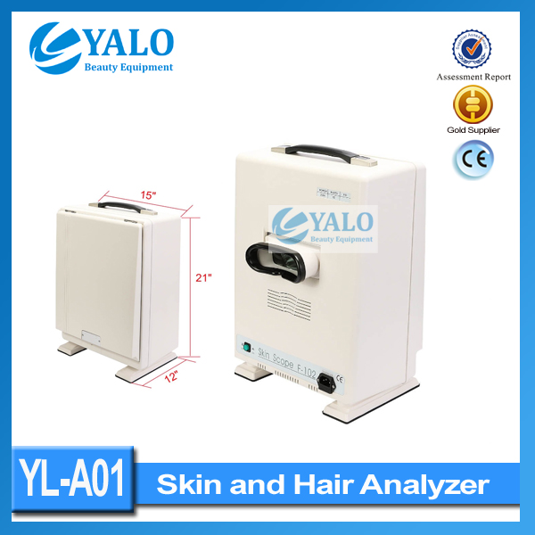 Wholesale price of YL-A01 portable skin analyzer /face and hair analysis